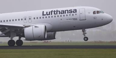 Sicherheits-Landung wegen Rauch im Flugzeug-Cockpit