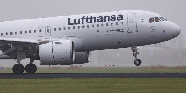 Lufthansa: Keine Flüge nach Teheran bis Ende März