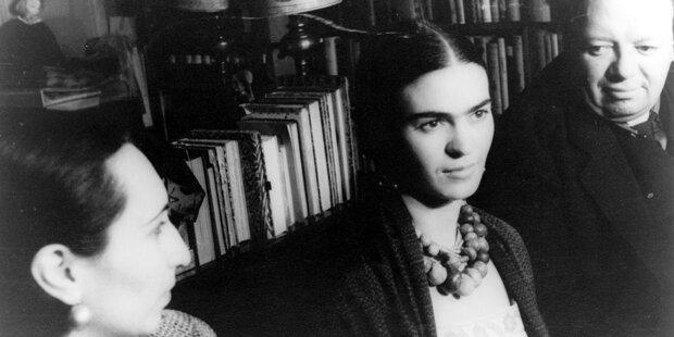 Tonaufnahme der Künstlerin Frida Kahlo aufgetaucht