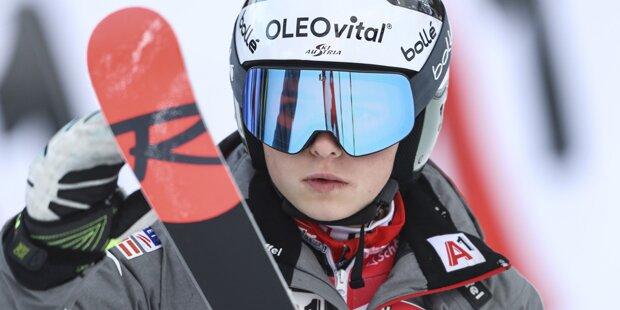 Super-G-Silber für Julia Scheib bei Junioren-WM