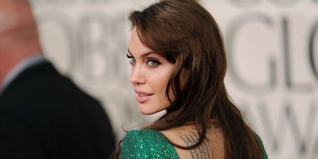 Jolie: Tattoo sollte ihre Ehe schützen