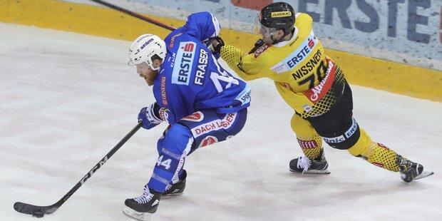 Siege für EBEL-Spitzenduo Caps & Graz