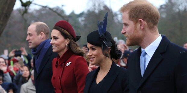 Auszug bei den Royals