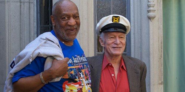 Model klagt gegen Cosby & Hefner