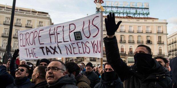 Uber und Cabify ziehen sich aus Barcelona zurück