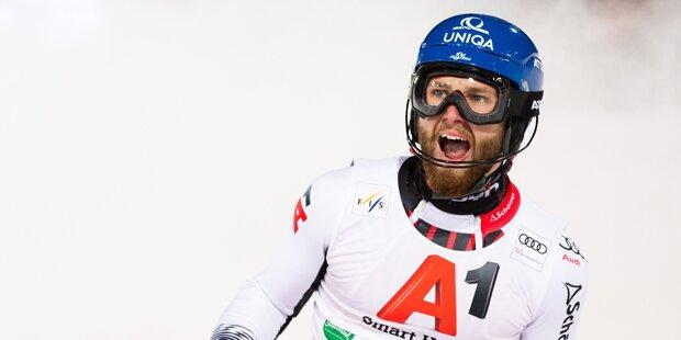 Marco Schwarz erzittert Bronze