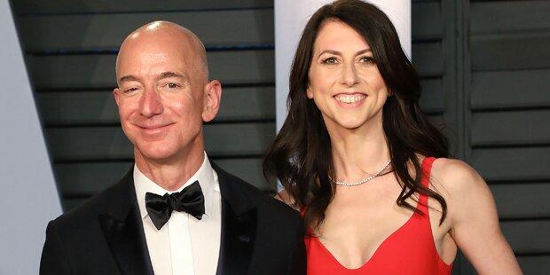 Jeff Bezos: Ex ist zweitreichste Frau der Welt