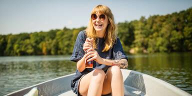 Sommer See Boot Hitze Sonne
