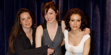 Holly Marie Combs, Rose McGowan und Alyssa Milano