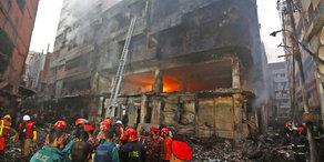 Bangladesch: Mindestens 69 Tote bei Brand