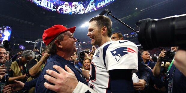 Ganze Welt feiert Brady