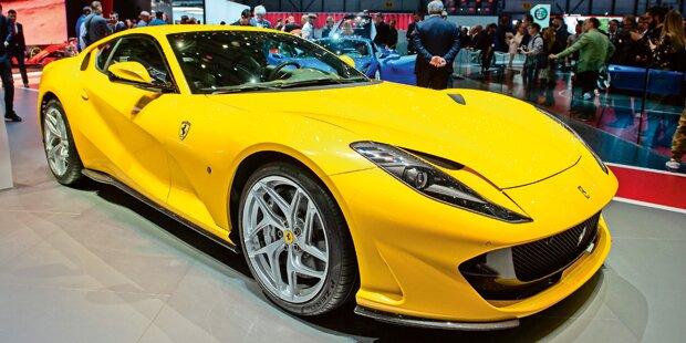 Jetzt gibt es Car-Sharing mit Ferrari & Co. in Wien