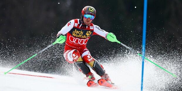 Noel gewinnt Slalom vor Feller: Hirscher nur 14.