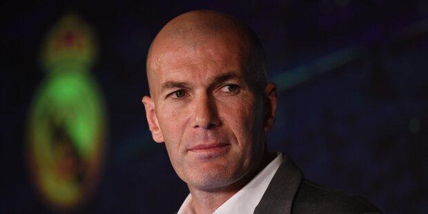 'Zizou' erhielt für Real-Kader 'uneingeschränkte Macht'