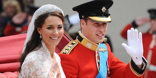 Kate & Will: Die Stationen ihrer Ehe