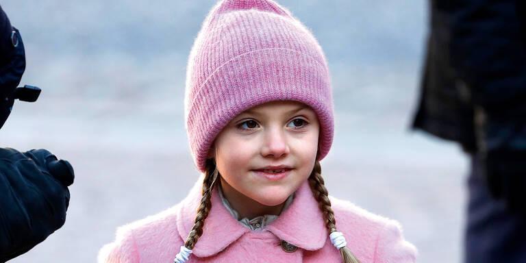 Prinzessin Estelle: Beinbruch im Ski-Urlaub