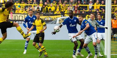 Herber Rückschlag für Dortmund - 2:4 im Derby gegen Schalke