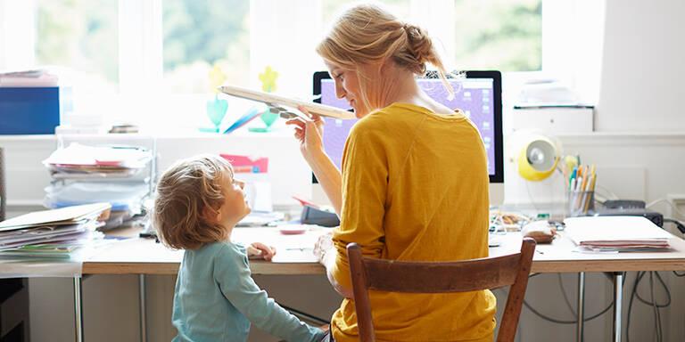 Coronavirus: Home-Office mit Kind braucht Regeln und Gelassenheit