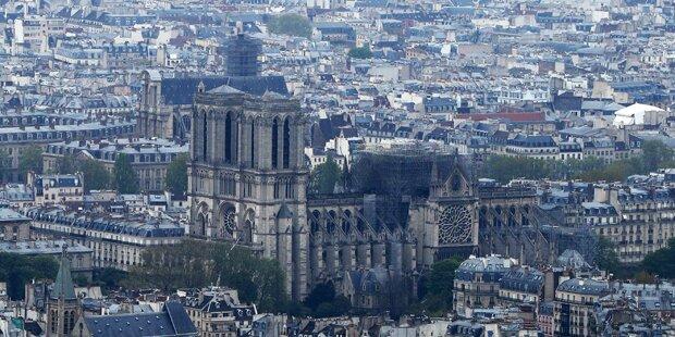 Steirer bieten Hilfe bei Aufbau von Notre-Dame an