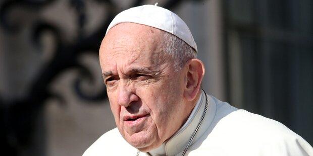 Heutiger Fremdenhass erinnert Papst an Hitler