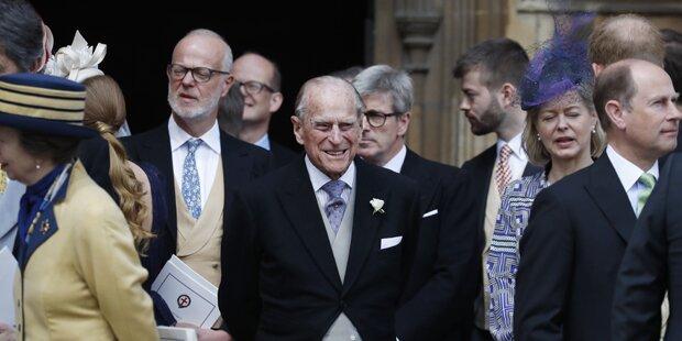 Britischer Prinz Philip wurde 98 Jahre alt