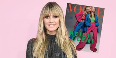1. Vogue-Cover für Mini-Klum: So sieht Heidis Tochter Leni aus