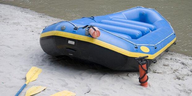 Schlauchboot-Drama: Großer Bruder als Held für zwei Buben