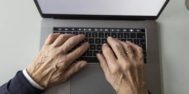 Hass-Kommentar Computer Mann