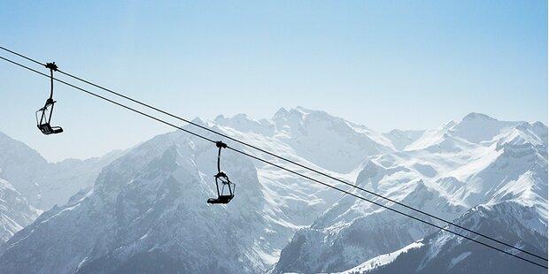 Ski-Pisten offen aber Lifte geschlossen