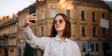 So Selfie-verrückt ist man in Europa