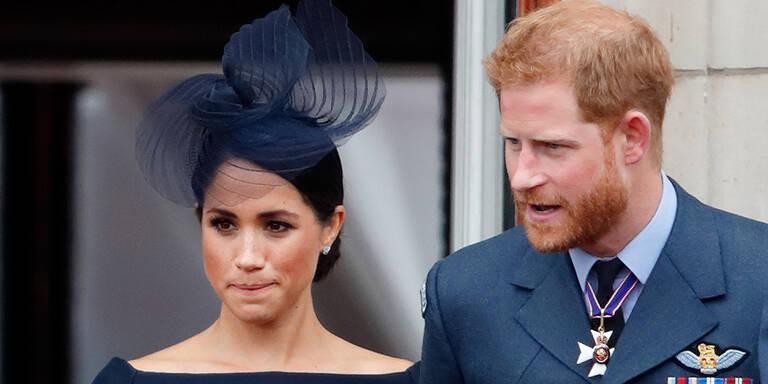 Meghan und Harry: Gerüchte um Ehekrise