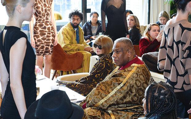 Mode-Zar Talley packt über Lagerfeld und Wintour aus