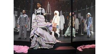 Auftakt in Mailand: Fashion Week: Gucci zeigt Backstage-Bereich