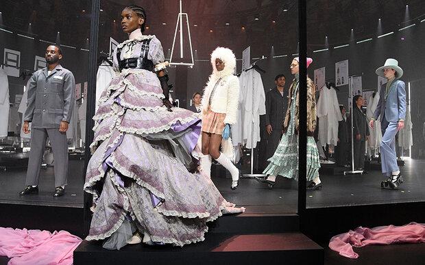 Fashion Week: Gucci zeigt Backstage-Bereich