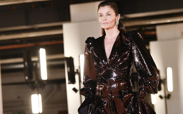 Supermodel-Comeback in Paris