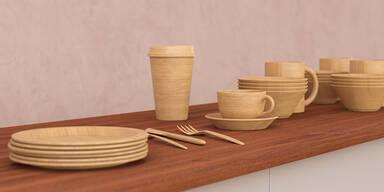 Bambus Geschirr