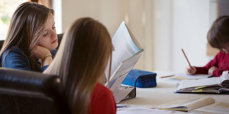 Schule: Ein Viertel lernt weniger als 3,5 Stunden pro Tag