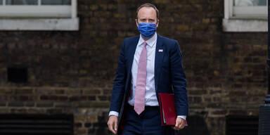 Britischer Gesundheitsminister Matt Hancock