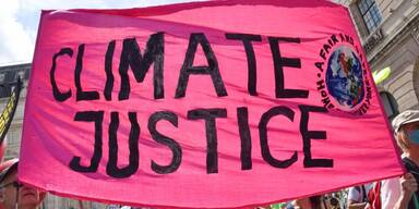 Climate Justice banner