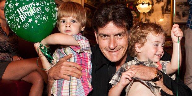 Sheen: Wie krank sind seine Söhne?