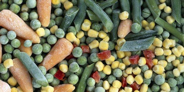 Gefährliche Keime: Drei Gemüsemischungen betroffen