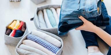 Kleidung organisieren