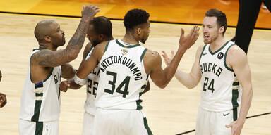 NBA Finale Milwaukee Bucks gegen Phoenix Suns