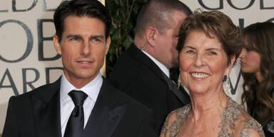 Tom Cruise mit Mutter