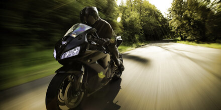 23-jähriger Motorrad-Raser mit 201 km/h erwischt
