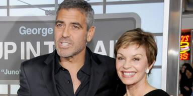 George Clooney & Mutter Nina