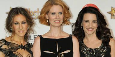 Cynthia Nixon, Sarah Jessica Parker, Kristen Davis