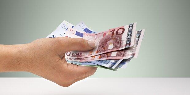 Lohnzuwächse 2019 deutlich über der Inflationsrate