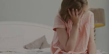 Missbrauch Belästigung Mädchen Trauer