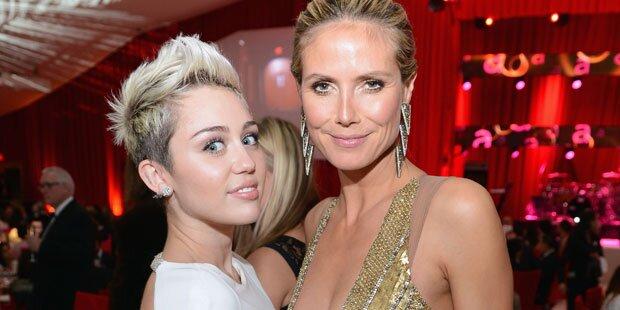 Miley-Verbot für Heidi Klums Kinder